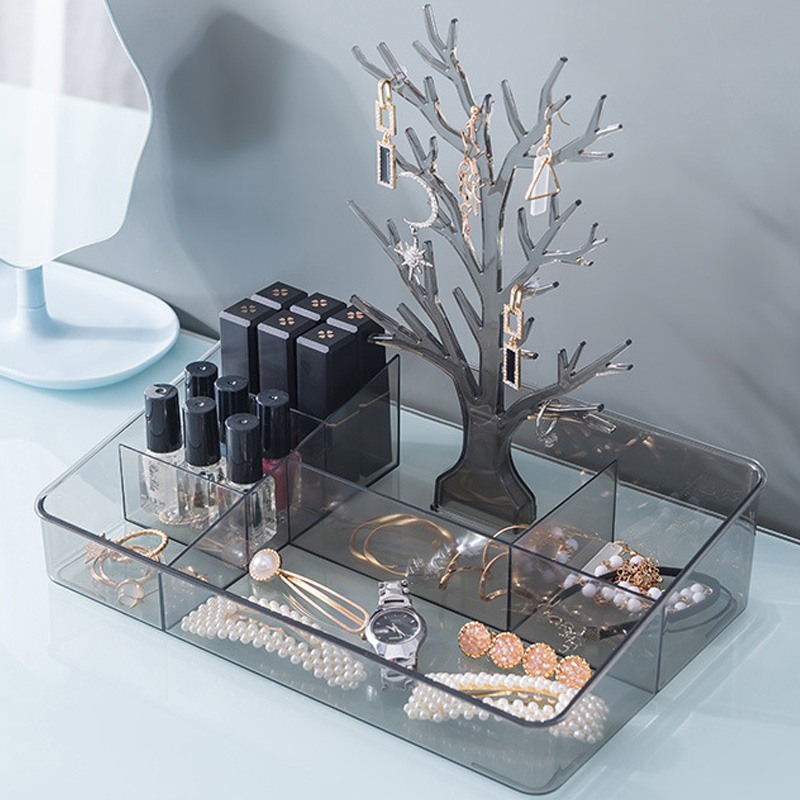 Earrings Necklace Ring Pendant Bracelet Jewelry Display Stand Tray Tree Storage jewelry Organizer Holder Storage box