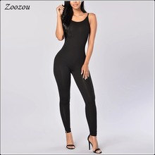 2020 Summer Pregnant Woman Bodycon Jumpsuits Sexy Sleeveless Spaghetti Strap Jumpsuits Plus Size 4XL Backless Rompers Custom(China)