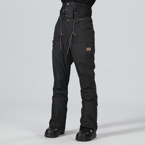Image 5 - Pantaloni da sci da Uomo Pantaloni di Inverno Degli Uomini Pantaloni Da Neve Maschio Snowboard Pantaloni Uomo Sci Snowboard Sci Tute e Salopette Impermeabile di Sport Pantaloni