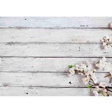 SHENGYONGBAO Vinyl Custom Photography Backdrops Prop Wood Planks  Theme Photo Studio Background NAN-04