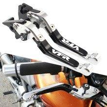 For Honda VFR750 VFR-750 1991-1997 VFR8001998-2001 CNC Motorcycle Brake Clutch Levers Adjustable Racing Accessories