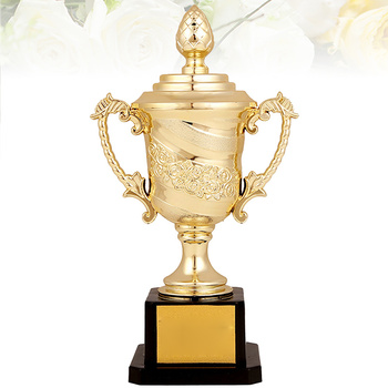 2020 Children Plastic Trophy Cup Kids Sports Competitions Award Toy With Base for School Kindergarten Prize Gifts for Students fantasy football championship belt trophy prize white