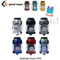 Vape tank Geekvape Zeus X RTA 4,5 ml tank kapazität mit 810 Delrin tropf spitze Elektronische zigarette zerstäuber vs zeus dual/AMMIT MTL