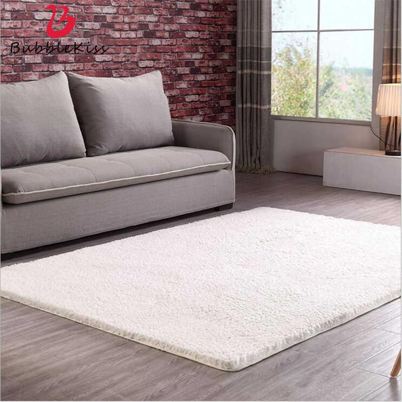 Shaggy Long Hair Simple Large Carpets