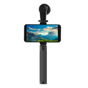 Image 3 - Için Zhiyun Feiyu Selfie sopa uzatma Reach çubuk ayarlanabilir uzatma braketi DJI OSMO Mobile 2/cep 3 Gimbal aksesuarları
