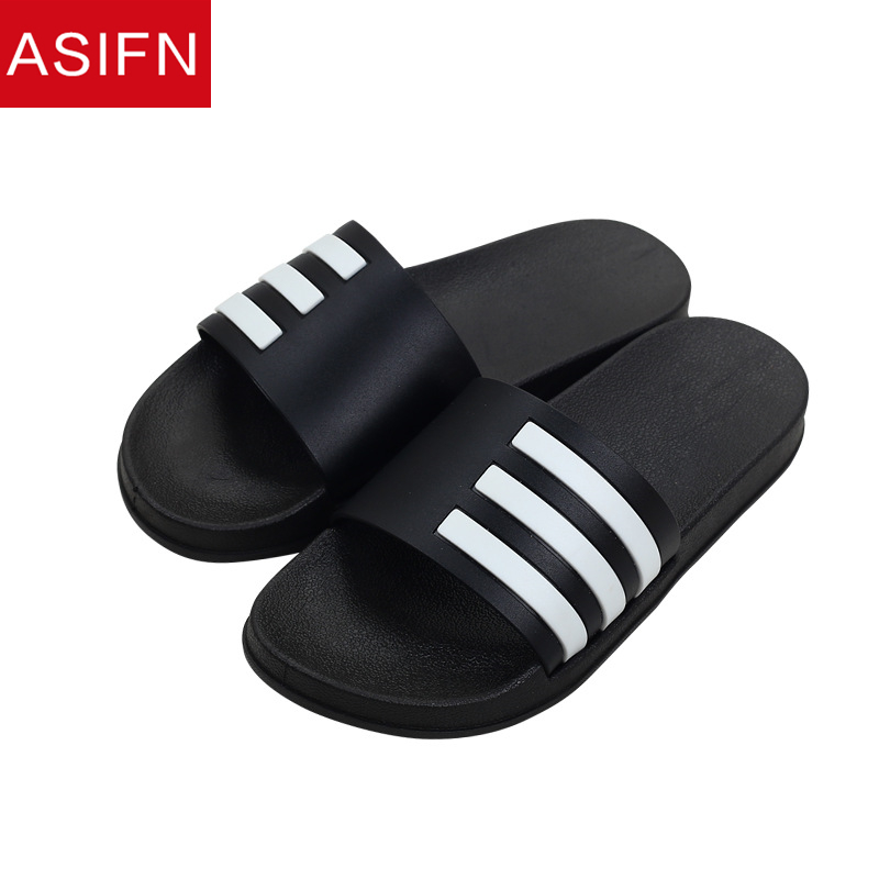 ASIFN Men Summer Slippers Beach Flip Flops Classic Stripes Sports Sandals Man Shoes Outdoor Male Slides Zapatos De Hombre
