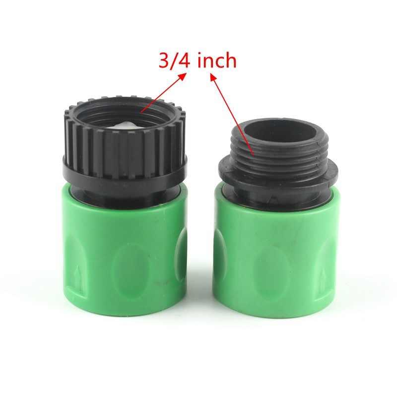 1/2 ''3/4'' conector de agua de jardín adaptador de grifo de agua conector de manguera de jardín para riego de jardín herramientas de jardín accesorios de jardín