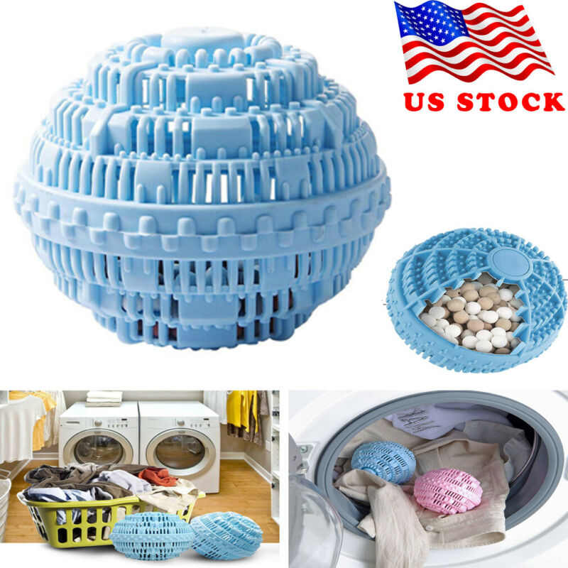 Eco Magic Laundry Ball Orb No Detergent Wash Wizard Style Washing