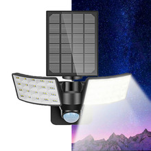 80LED Solar Infrared PIR Motion Sensor Wall Light Outdoor 3 Modes Waterproof IP65 For Street Garden Split/All-in-one Wall Light vioslite hot now product led light source and cool white color temperature cct all in one solar street light