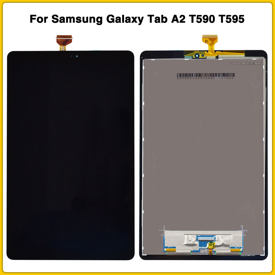 New 10.5'' 2018 For Samsung Galaxy Tab A2 T590 T595 SM-T595 SM-T590 LCD Display Panel Screen Monitor Touch Screen Assembly