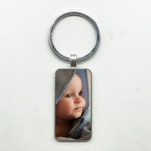 Индивидуальный заказ брелок для мамы изображение ребенка папы