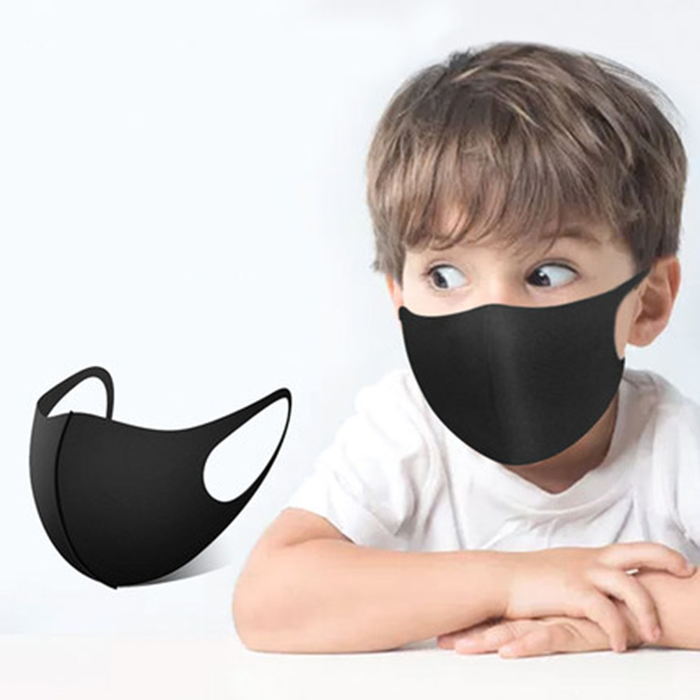 3-Layer Anti-fog Haze Dust Face Mask Reusable Mouth Cover Washable Dustproof 3D Children Mouth Mask