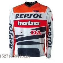 Майка для мотокросса, майка для горного велосипеда DH, MX, одежда для мотоцикла, подходит для PRO MONTESA REPSOL, Джерси