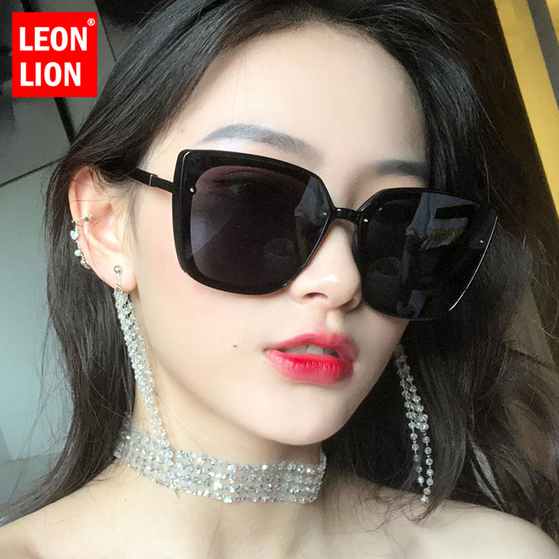 LeonLion Luxury Retro Sunglasses Women Cateye Glasses For Women Brand Designer Sunglasses Women Vintage Oculos De Sol Feminino