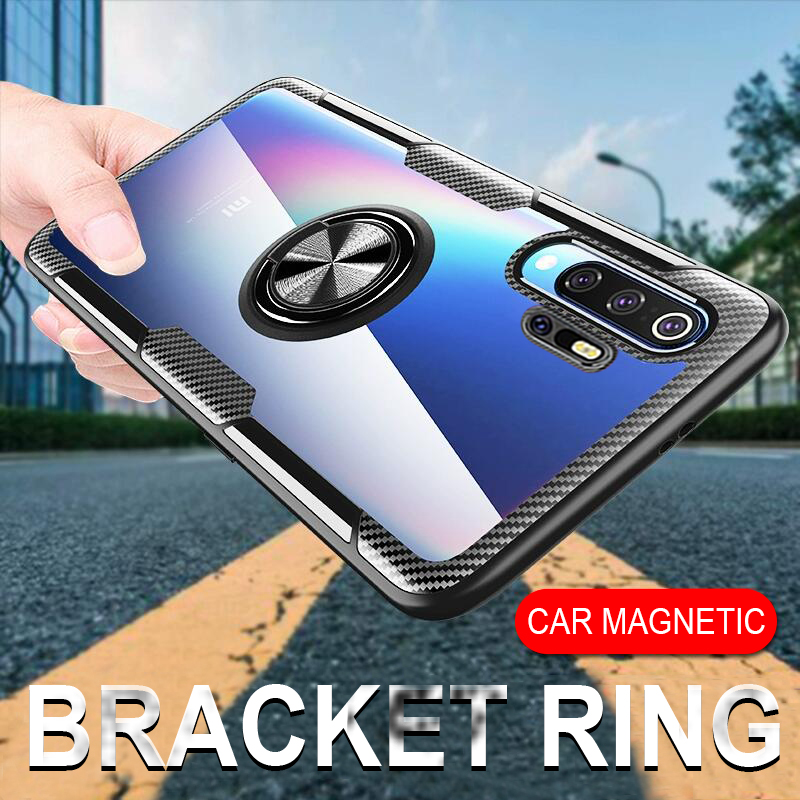 Case For Huawei Mate 20 Lite Case Magnetic Ring Holder Stand Cover For Huawei P30 Pro P20 Honor 8X Max 10 Lite Play Nova 5 Case