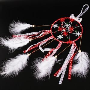 Image 2 - Lucia Crafts 5yard 10mm/25mm Snowflake Organza Ribbon DIY Bowknot Gift Wrapping For Christmas  DecorP0303
