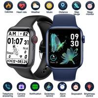 2021 Smart Uhr Sport Smartwatch Männer Frauen Schlaf Körper Temperatur Herz Rate Blutdruck Monitor Uhren Für IOS Android
