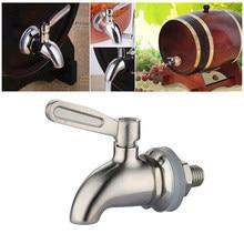 Aço inoxidável 12mm 16mm dispensador de rosca diâmetro garrafa água dispensador torneira torneira bibcocks barril vinho torneira água