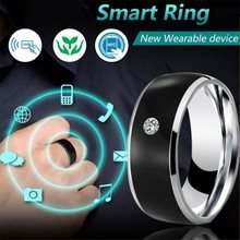 NFC Smart Ring Fashion Titanium Steel Accessories Intelligent Equipment Devise Waterproof for Android System Mobile Phone APP(China)