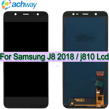 New TFT For Samsung J810 Galaxy J8 2018 J800 J800FDS LCD Display Touch Screen Digitizer Assembly for Samsung J8 LCD Display