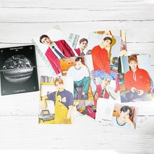 12 stks/set KPOP EXO Album Zelf Gemaakt Papier Lomo Kaart Fotokaart Poster Photocard Fans Gift Collection Briefpapier Set(China)
