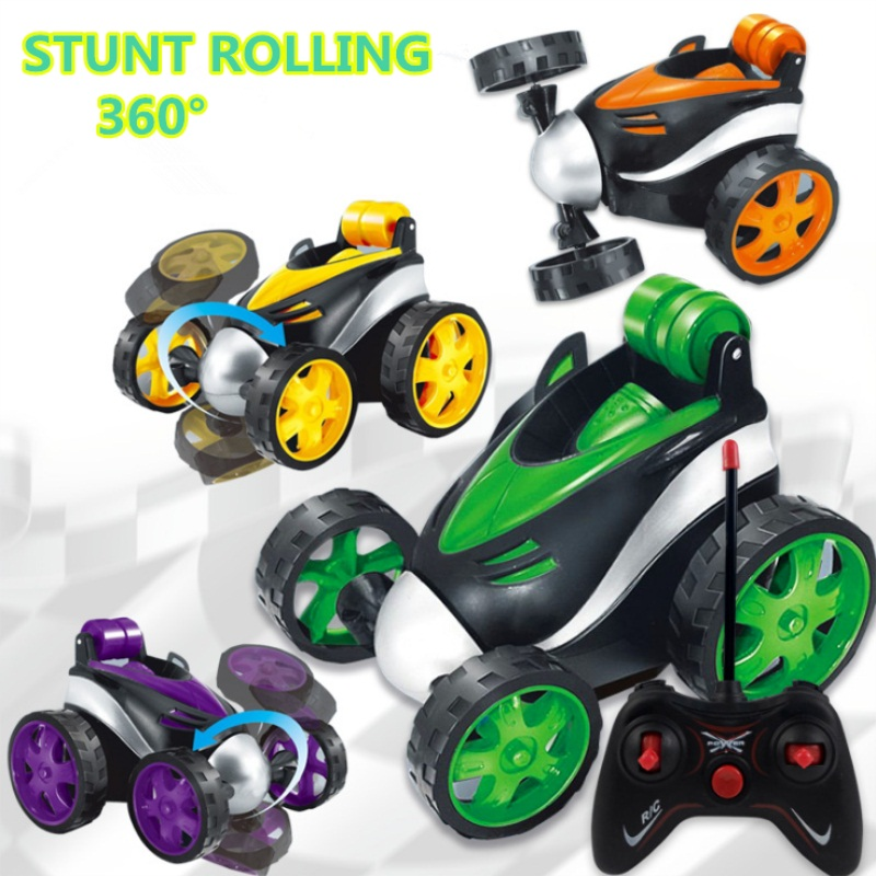 Stunt Dancing RC Car Tumbling Electric Controlled mini car funny Rolling Rotating Wheel Vehicle Toys for Gifts