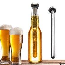 Барный инструмент, нержавеющая сталь, охладитель пива, палочка с наполнителем, охлаждающий стержень для пивного напитка, охладитель для пивного напитка, замороженная палочка, охладитель льда