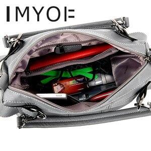 Image 4 - Fashion Designer Women Handbag Female Genuine Leather Bags Handbags Ladies Portable Shoulder Bag Office Ladies Causal Bag Totes