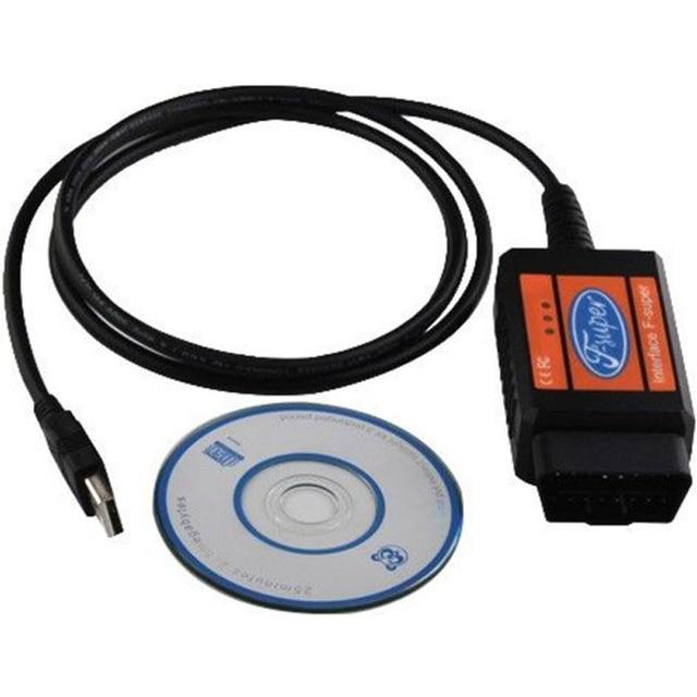 Outil de Diagnostic de voiture, Scanner de Code, câble de lecteur de Code, Obd, Obdii, Obd2, Usb