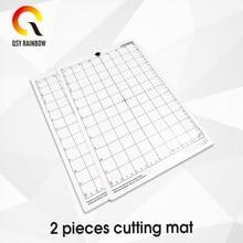 2pcs 8*12 Ersetzen Schneiden Matte Transparent Klebstoff Matte mit Mess Grid 8*12 Zoll für Silhouette cameo Plotter Maschine