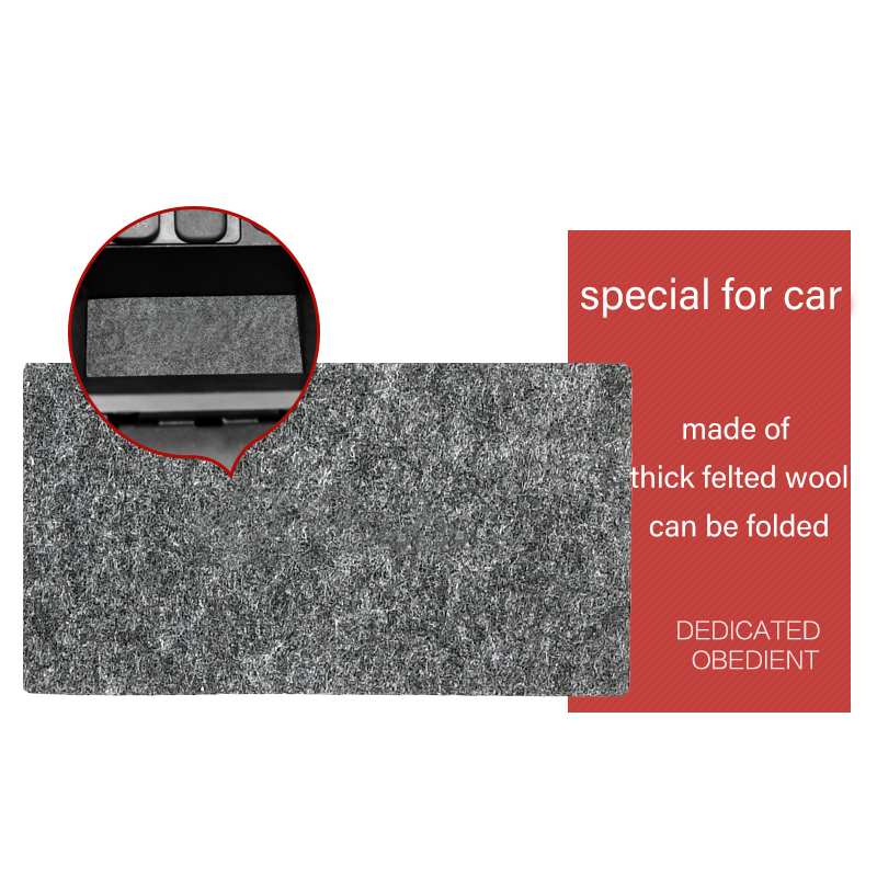 18 Pcs Gate Slot Mat Pad Felted Wool For Mazda 3 5 6 CX 3 CX 5 CX 7 Door Groove Mat Car Accessories Anti Slip Car Styling