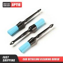 SPTA 25cm ארוך ידית פלסטיק מברשת עבור אוטומטי מנוע ניקוי פוליאסטר זיפים רכב המפרט מברשות תכליתי ניקוי כלים