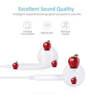 Image 5 - สำหรับApple IPhone 7ในหูฟังสเตอริโอหูฟังพร้อมไมโครโฟนแบบมีสายหูฟังบลูทูธสำหรับiPhone 8 7 Plus X XR XSสูงสุด11ชุดหูฟัง