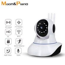 цены HD 720P 1MP 64G Sd Card Home Security IP Camera Wireless Mobile Phone Voice Intercom Remotely Surveillance Wifi  IR Monitor