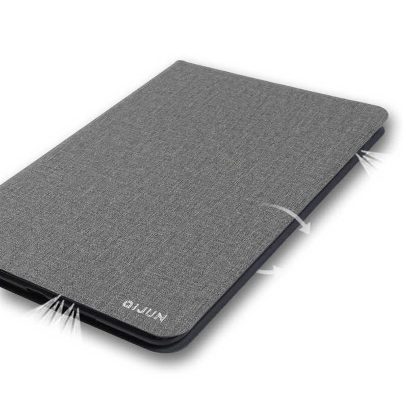 "Voor Lenovo Tab 4 8 ""Plus QIJUN Tablet Case voor Tab4 8 plus TB-8704F TB-8704N 8704X2017 Slim flip Cover Zachte Beschermende Shell"