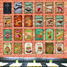цена на Tin Signs  Metal Plate Wall Pub Kitchen Restaurant Home Art Decor Vintage  Poster Cuadros LA-4597A