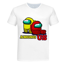 Toddler T-Shirts Among Us Cartoon Kids Game Summer Tops Funny Girls Baby Boys Children