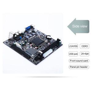 Материнская плата LX3 PLUS R2.0 для настольных ПК, новая материнская плата H61 Socket LGA 1155 I3 I5 I7 DDR3 16G uATX UEFI BIOS