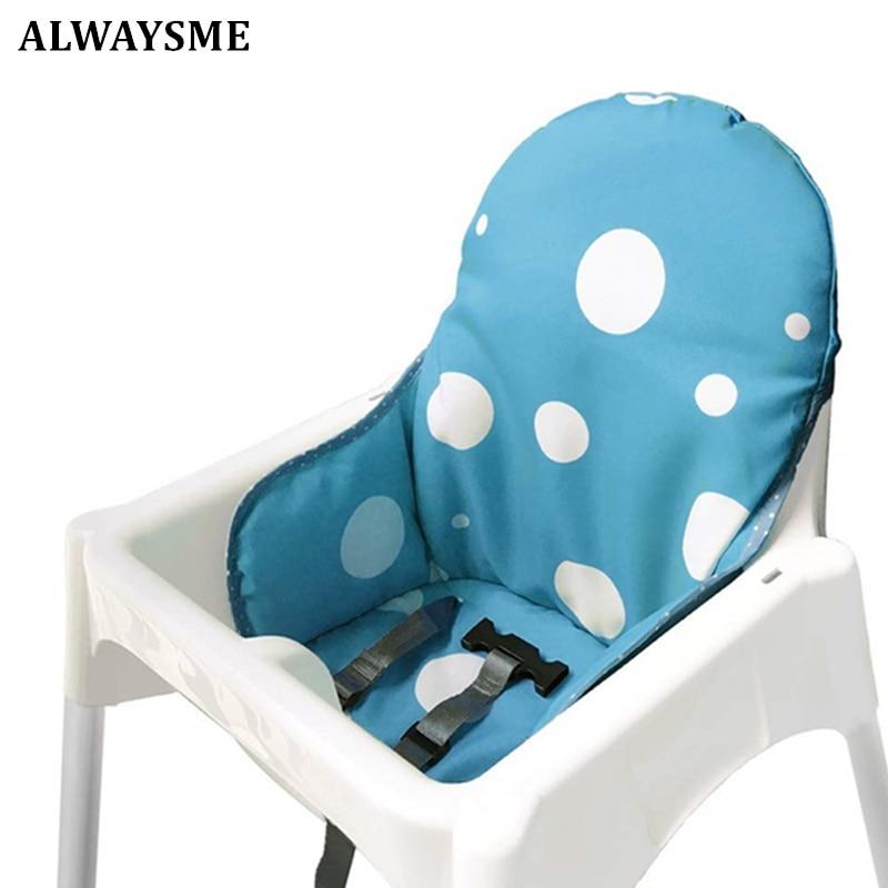 Alwaysme almofada infantil para cadeira, almofadas para cadeiras de alimentação, assento para carrinho