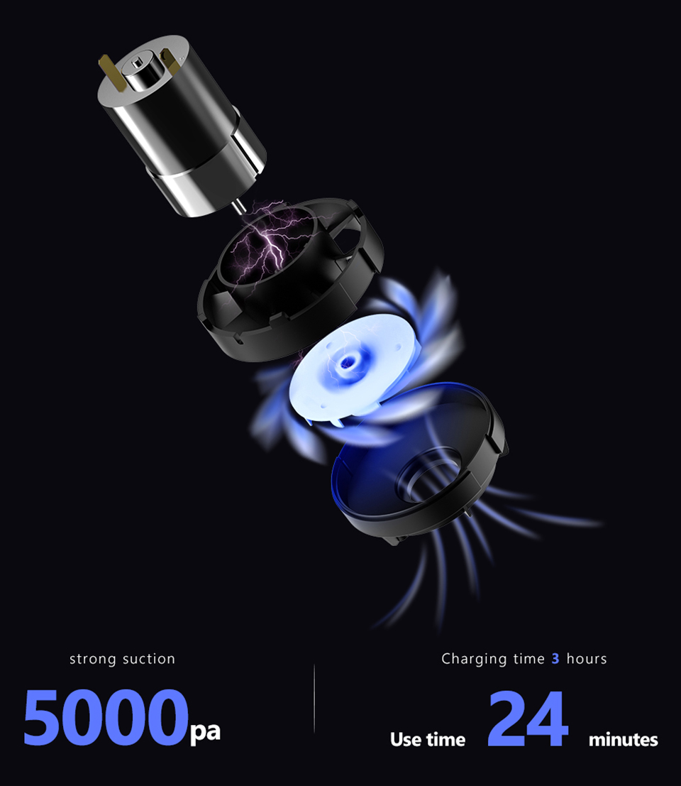 Xiaomi 70mai Midrive PV01 Mini Handheld Wireless Car Vacuum Cleaner 10