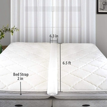 Kit convertidor de puente de cama doble a rey-Relleno de cama para hacer camas individuales en conector King-conector de cama doble y conector de colchón
