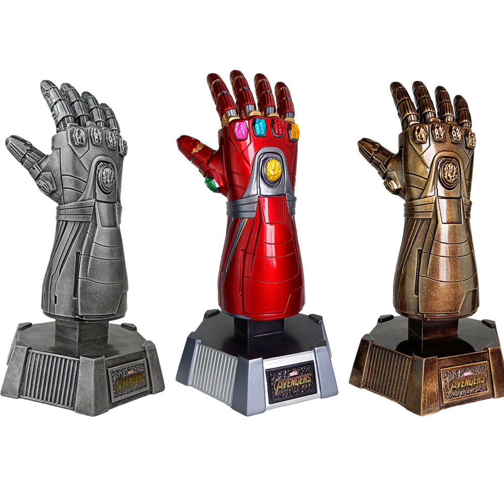 Marvel Avengers Ironman infini gantelet gants résine Statue figurine modèle jouets pour Collection