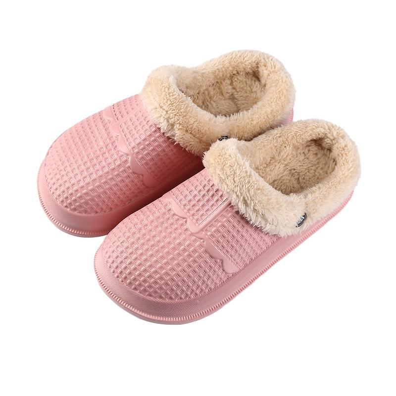 Ltolo Winter Children Kids Girl Mules Warm Clogs Crock Sandals  Garden Slippers Baby Shoes For Girls EUR31 32 33 34 35 36