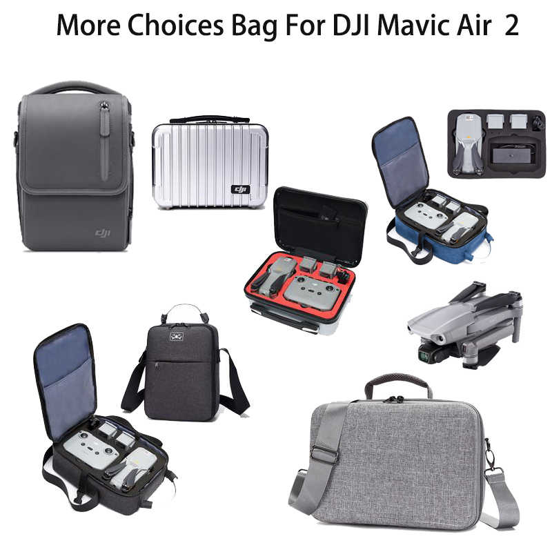 Portable Waterproof Storage Bag w// Shoulder Strap Carry Case For DJI MAVIC Air 2