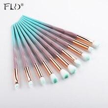 FLD 10/4/6 teile/satz Professionelle Make Up pinsel Augen Make Up Pinsel Set Sculpting Eyeliner pinsel lidschatten Set pinsel kits