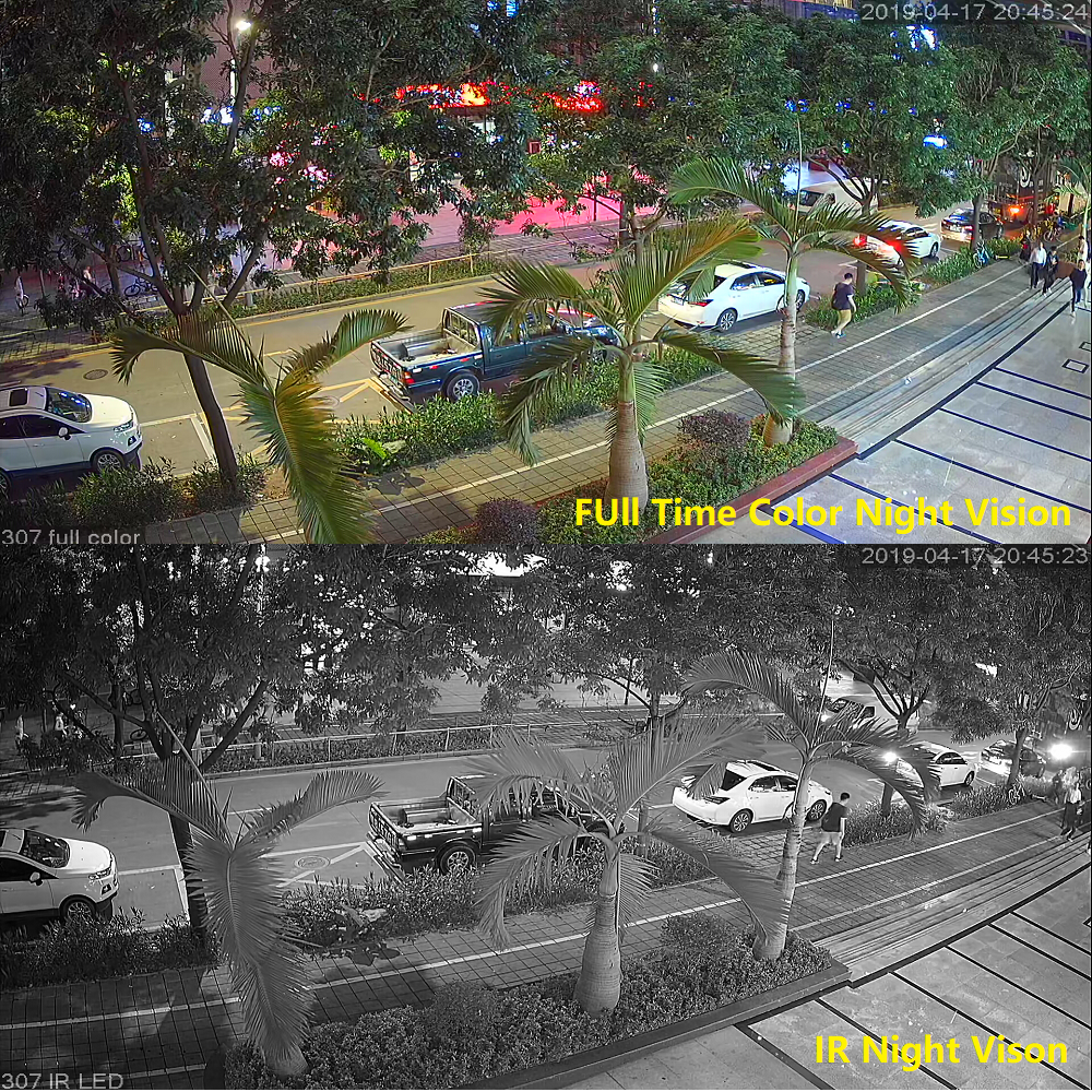 Image 4 - Movols 2MP Colorful&IR Night Vision CCTV Kit Outdoor Indoor Waterproof Video Surveillance System 8CH DVR Security Camera SystemSurveillance System   -