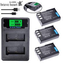 Batterie Bateria EN-EL9A EN-EL9 EN EL9 el9a ENEL9A ENEL9 avec double chargeur type-c pour appareil photo Nikon D40 D40X D60 D3000 D5000 L15