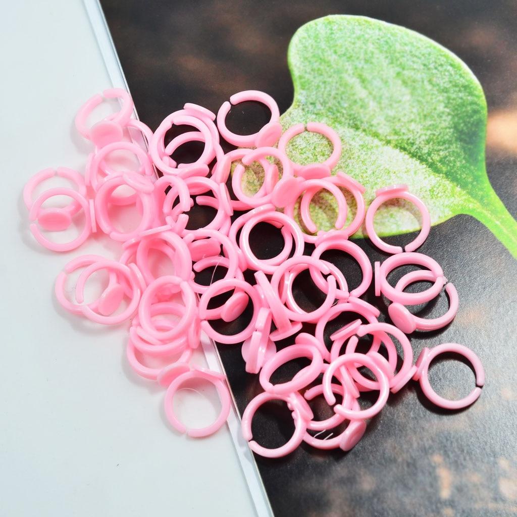 50X Adjustable Ring Base DIY Children Girls Ring Base Jewelry Finding