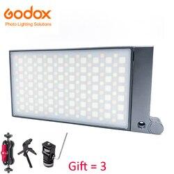 Godox M1 2500k-8500k Full Color RGB LED Light Pocket Aluminum Alloy LED Video Creative Light Camera Photography Light Portable