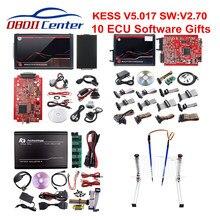 DHL Kess 2,7/5,017 K-tag V7.020 мастер ЕС программатор системного блока управления Ksuite 2,70 2,53 Kess 5,017 K Tag 2,25 OBD2 ЭБУ чип инструмент настройки интернет